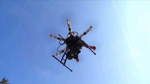 Drona - Prima livrare