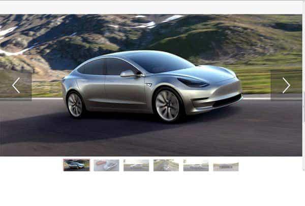 Tesla Model III 2016
