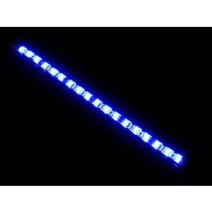 banda led iluminare carcasa albastru 2020