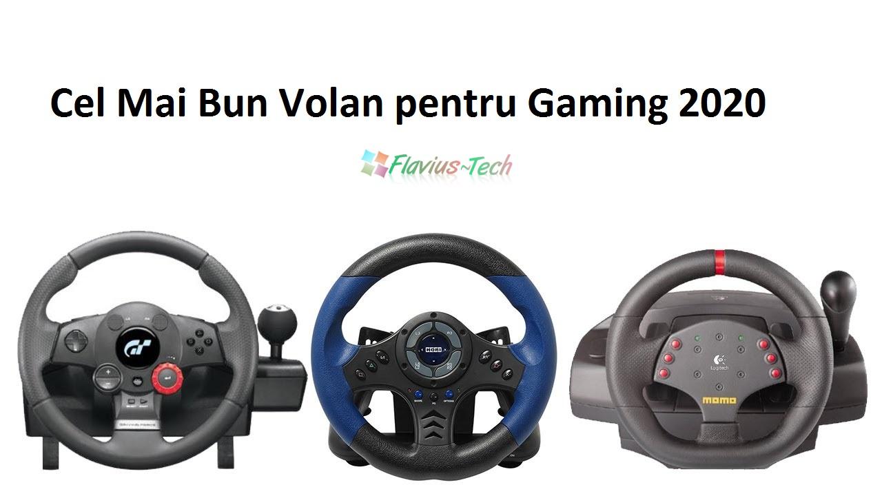 cel mai bun volan gaming 2020
