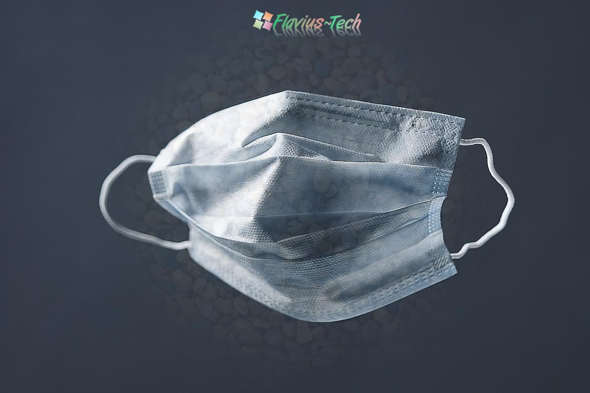 mască medicală antigripă