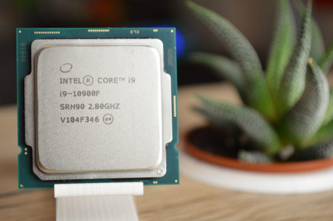 procesor intel i9-10900f editari video